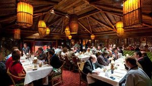 Industry executives filled up two rooms at Trader Vic's, which closed its doors for the Summit's private dinner party. Guests were given a dinner choice of sea bass or filet mignon.