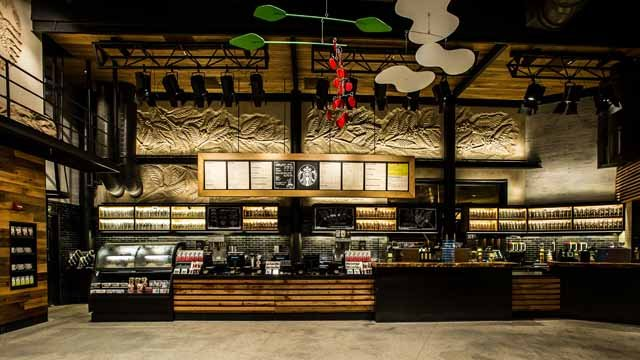 A Look At Starbucks New Interactive Store Design Disney World Fast Casual