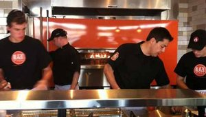 <p>Blaze's target audience is Millennials because they want customized, quick meals.<br />