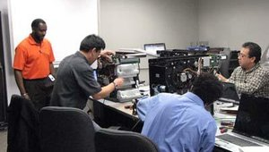 ATM technicians are already being training at the facility.
