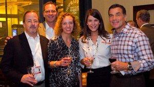 From left: Jeff Carl, Tavistock/Freebirds World Burrito, Christopher Smith, newBrandAnalytics, Suzy Badaracco, Culinary Tides, Catherine Wilson, newBrandAnalytics, Paul Mangiamele, Bennigan's
