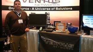 Ventus Networks' Juan C. Palma, tech systems analyst.