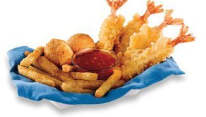 Captain D's also has a shrimp value meal, the new Crispy Asian Shrimp Basket, available for $3.99. The basket includes a choice of any side and hushpuppies.