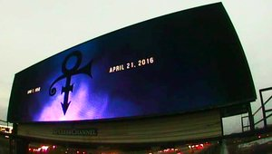 Digital billboards across the country honor music legend Prince