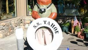 """Tranax 2006 conference attendees were welcomed by a """"defacto"""" South Lake Tahoe mascot."""