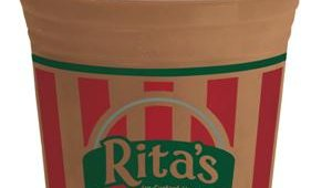 The Misto was added to the menu in 1998. The product is a combination of Italian Ice and Frozen Custard blended into a cool, creamy, customizable treat. Shown here, chocolate.