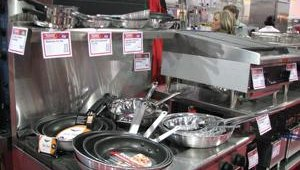 Attendees at the NAPICS show got a chance to see the latest in kitchen equipment and utentils.
