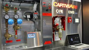 CaptiveAire's CORE Protection Fire System is a UL300-approved fire system for commercial kitchen ventilation with electric remote real-time monitoring, supervision and communication of operational status and specific fault conditions.