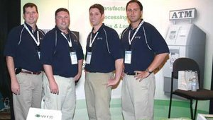 The WRG team from the WRG booth.