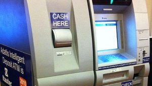 Itautec America displays intelligent deposit ATM prototype for the U.S. market at ATMIA in Miami. The machine is compliant with Americans with Disabilities Act (ADA) requirements.