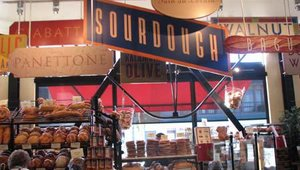 San Francisco's Boudin Bakery got its start in 1849 and is now the city's oldest operating business. The bakery crafts a wide variety of bread such as sourdough, panettone and kalamata olive, as well as croissants, baguettes and other baked goods.