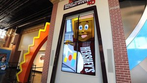The Henson Digital Puppetry Studio is a proprietary technology that allows the company's puppeteers to perform animated characters in real-time, which creates a level of spontaneity and interaction between the audience and Hershey characters.
