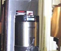 FETCO's Extractor Brewer Series now includes a new half-gallon Luxus Thermal Dispenser, for restaurants with smaller volume. The brewer also features the new Cascading Spray Dome.