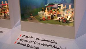Managed services include consulting, often before branch or retail store construction begins.