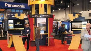 Radical Computing Corp. also had a booth at the Expo and sales representatives were on hand to promote the company's Retail Path Networks digital signage media players.