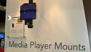 Chief highlighted new digital signage media player mounts at the show.