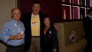 Dan Pittard (Rubio's), Russ Bendel (The Habit Burger Grill) and Linda Duke (Duke Marketing).