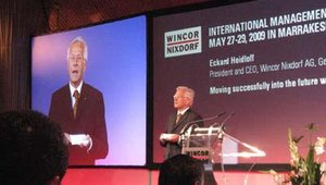 Eckard Heidloff, Wincor's president and chief executive, says Wincor is focused on Morocco as a point of entry to the rest of Africa.