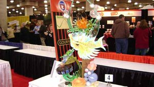 "Paris Gourmet sponsored the 19th Annual U.S. Pastry Competition, held during the show. The theme of this year's competition was ""Under the Sea."""