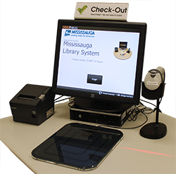 mississauga libraries install self service checkout kiosk marketplace