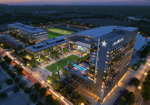 The Star, home to the world headquarters of the Dallas Cowboys