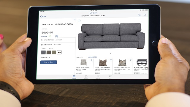 Furniture retailer taps apps to boost customer experience