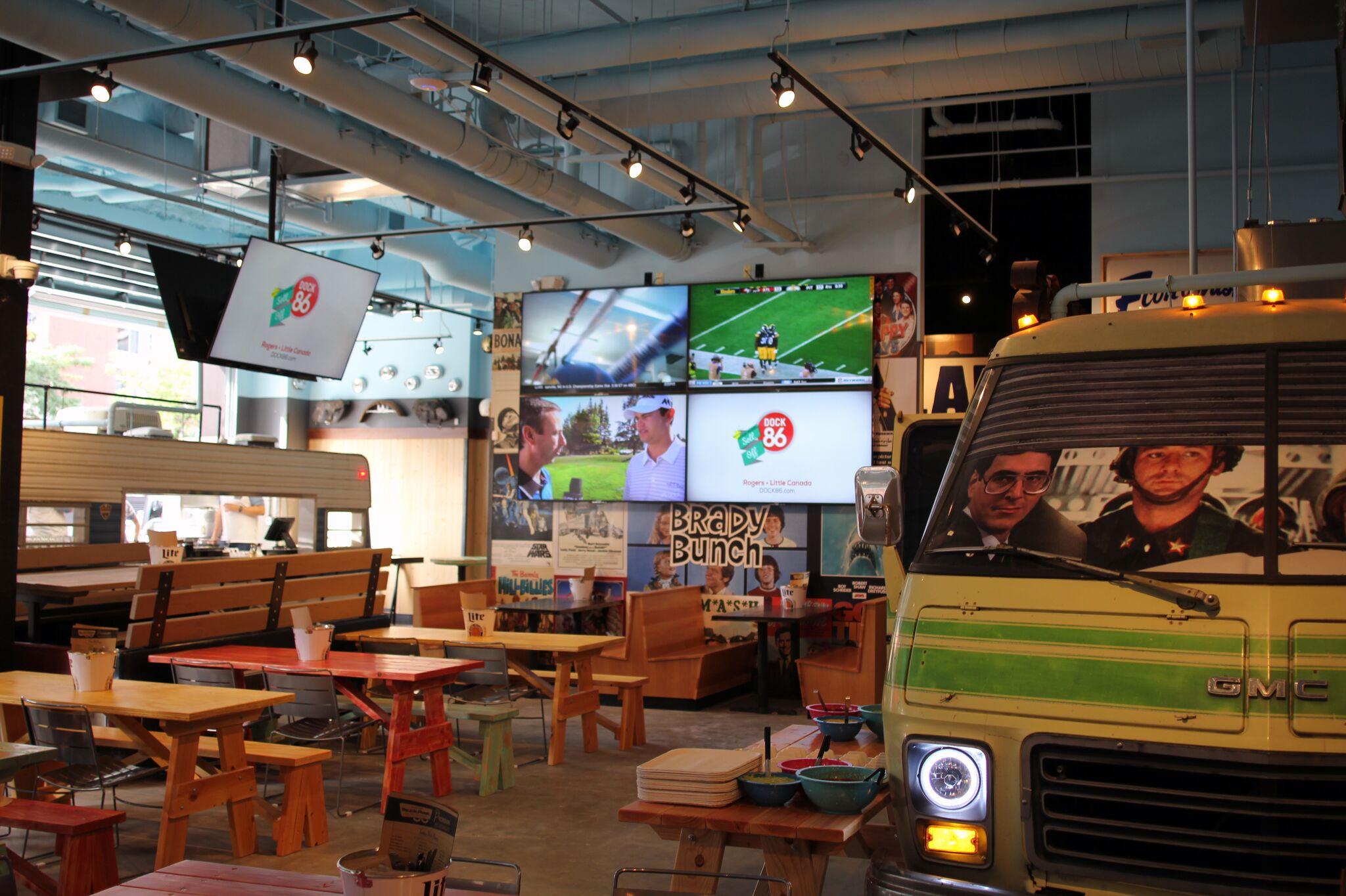 Indoor Food Truck St Paul