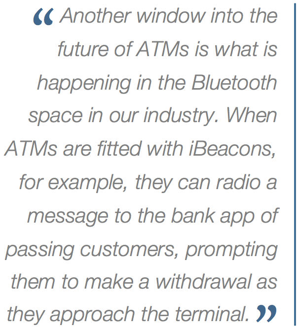 The atm at 100 a forecast for 20172067 part 1 atm marketplace nfc enabled atm transactions will be faster more secure and more convenient than typical transactions today malvernweather Choice Image