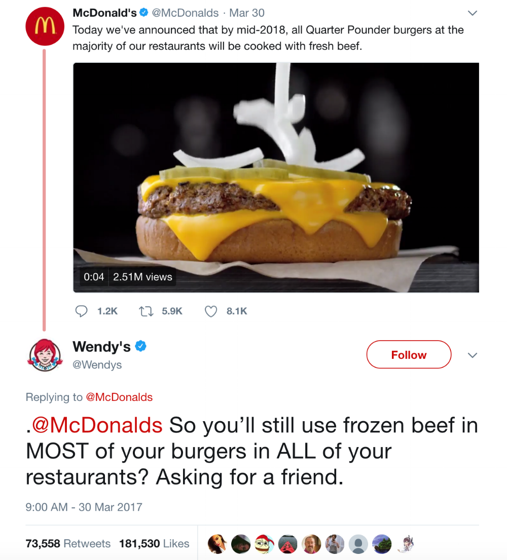 Foodservice industry's Top 7 social media campaigns of 2017