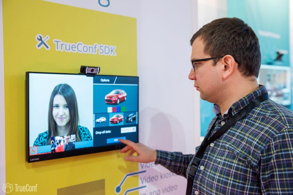 TrueConf creates custom made car rental kiosk with video