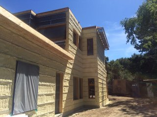 Jacobson House spray foam insulation