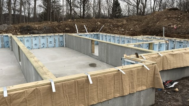 Precast Concrete Foundations Start Off Affordable Housing