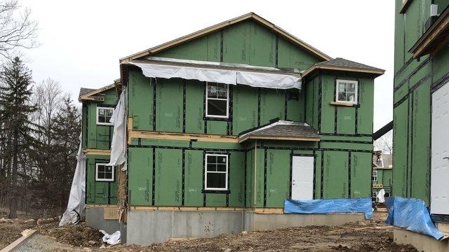 Precast concrete foundations start off affordable housing
