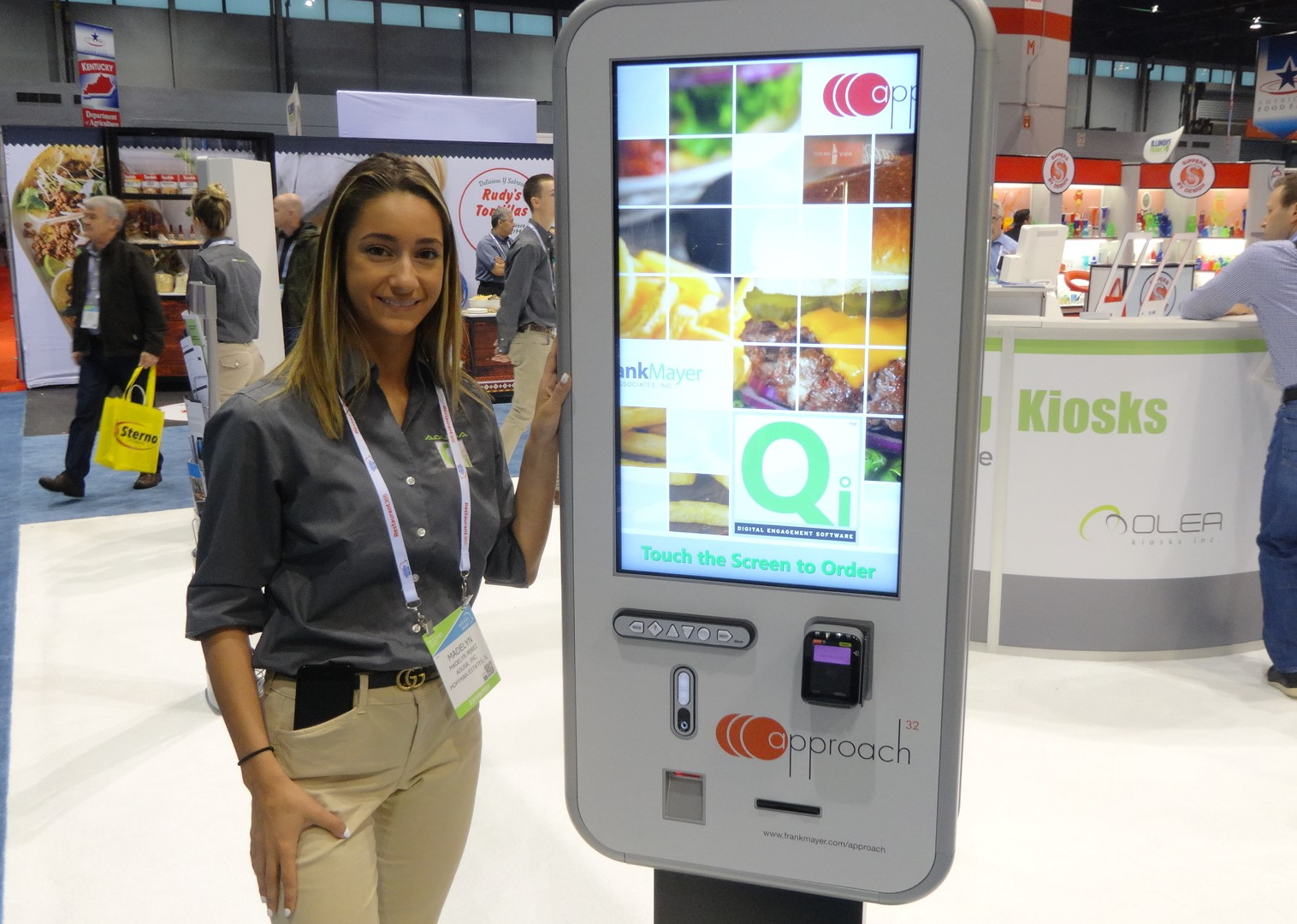 Self-order kiosks let loose at National Restaurant Show