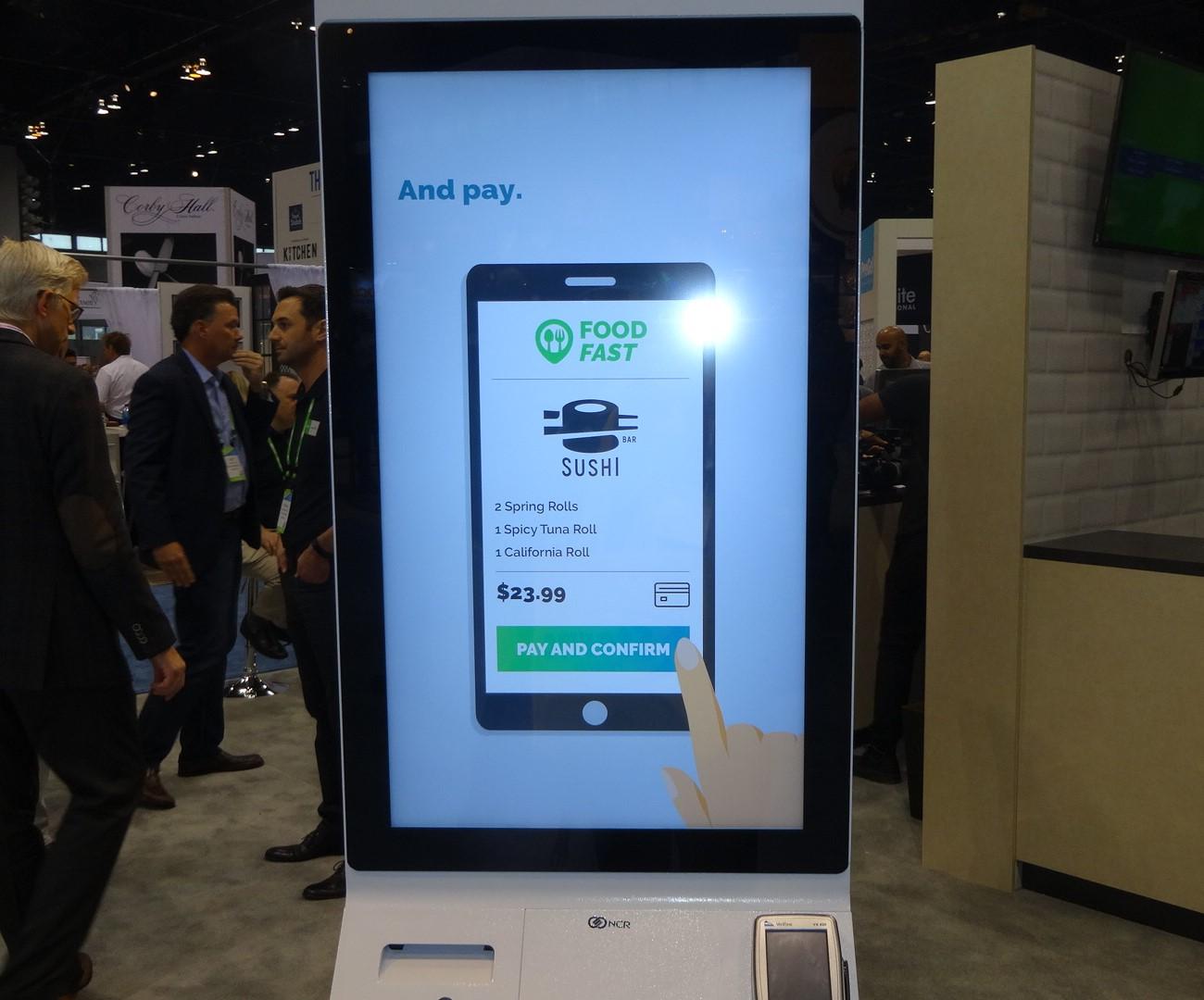 Self-order kiosks dominate NRA Show   FastCasual