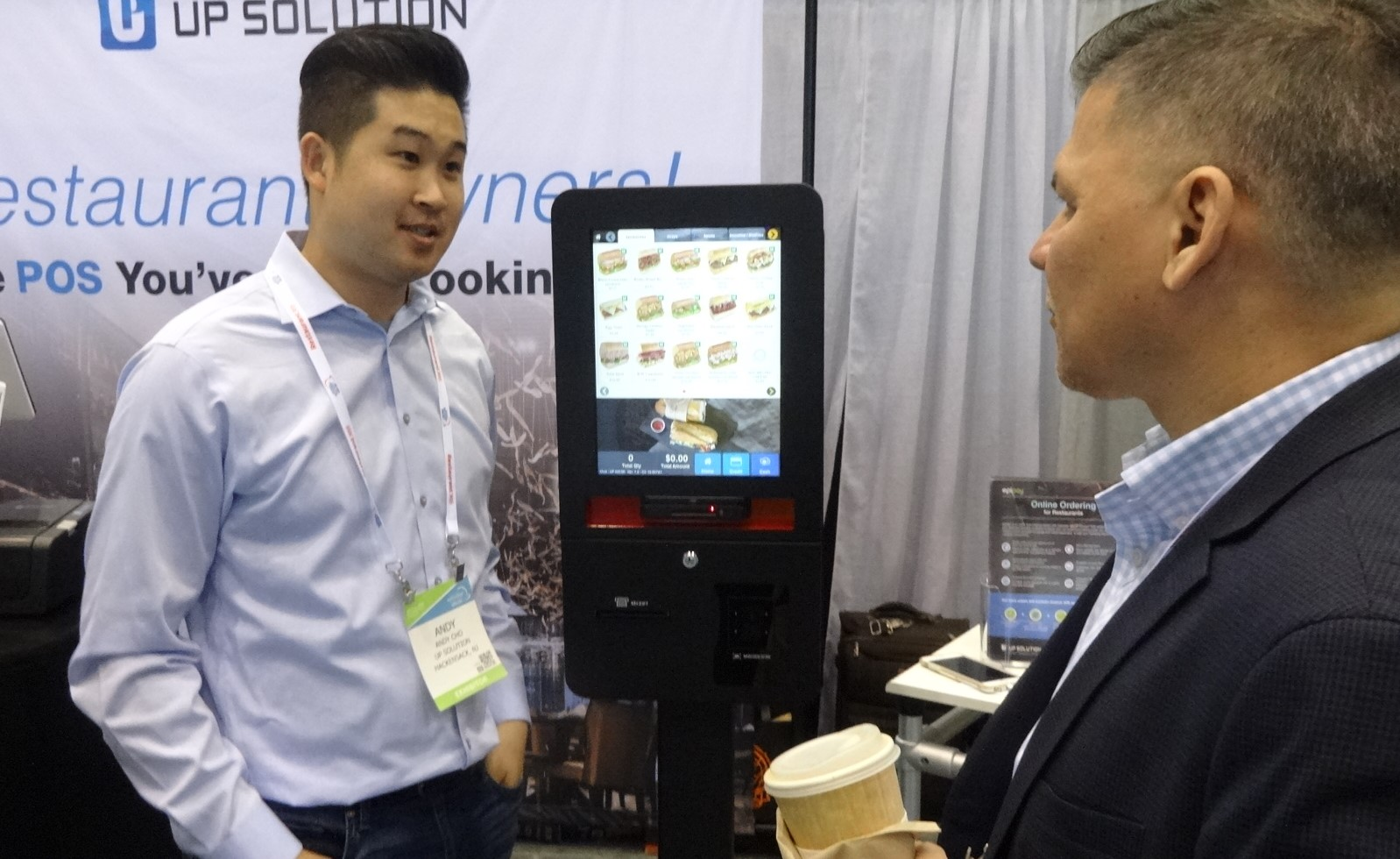 Self-order kiosks dominate NRA Show | FastCasual