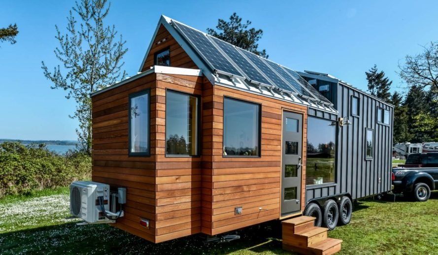 TruForm Tiny Has Made A Name For Itself By Crafting Made To Order Tiny Homes.  The Tiny Home Is As Big On Design And Comfort As It Is On Energy Efficiency.