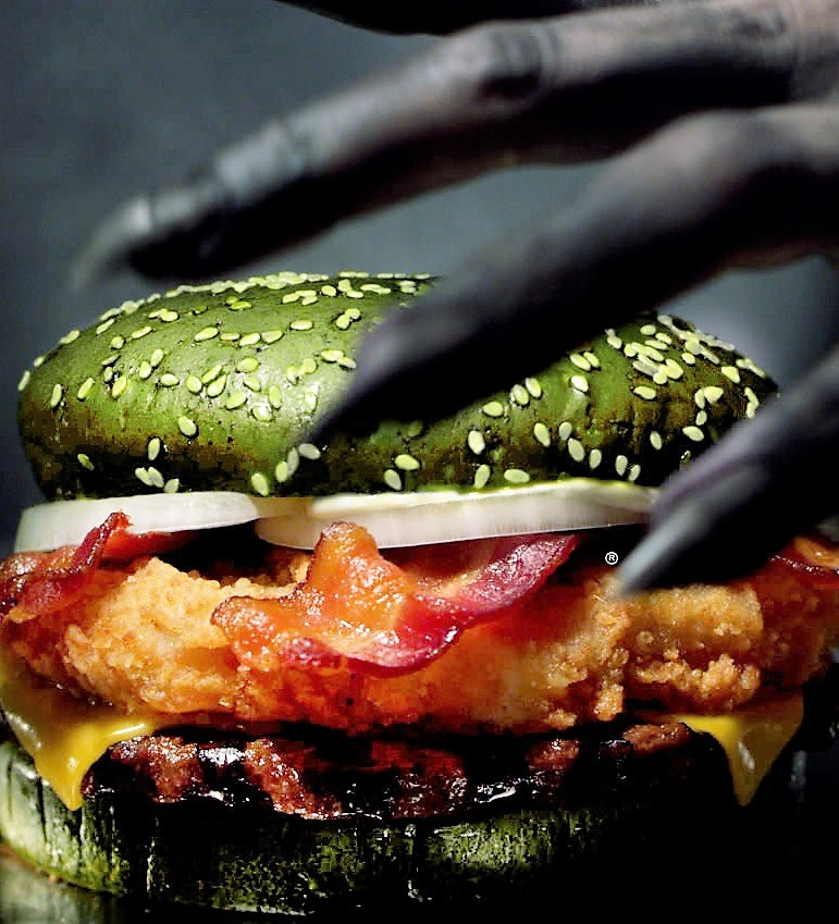 Burger King says its Halloween 'Nightmare King' burger can induce nightmares