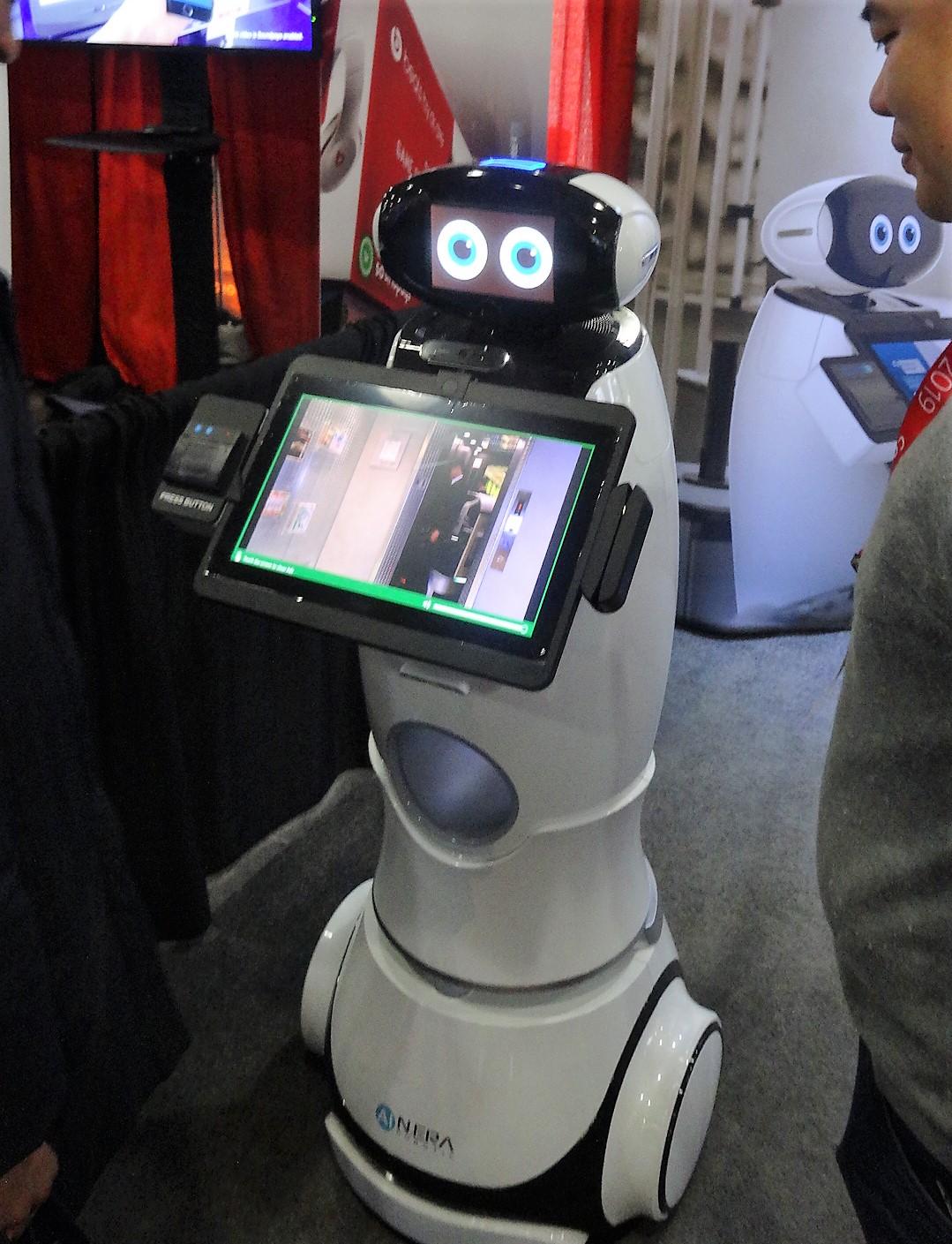 Interactive kiosk innovations let loose at NRF Big Show   2019 NRF