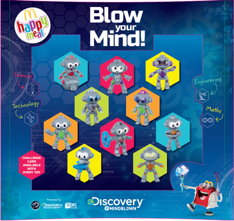 McDonald's Happy Meal toys target STEM subjects | QSRweb