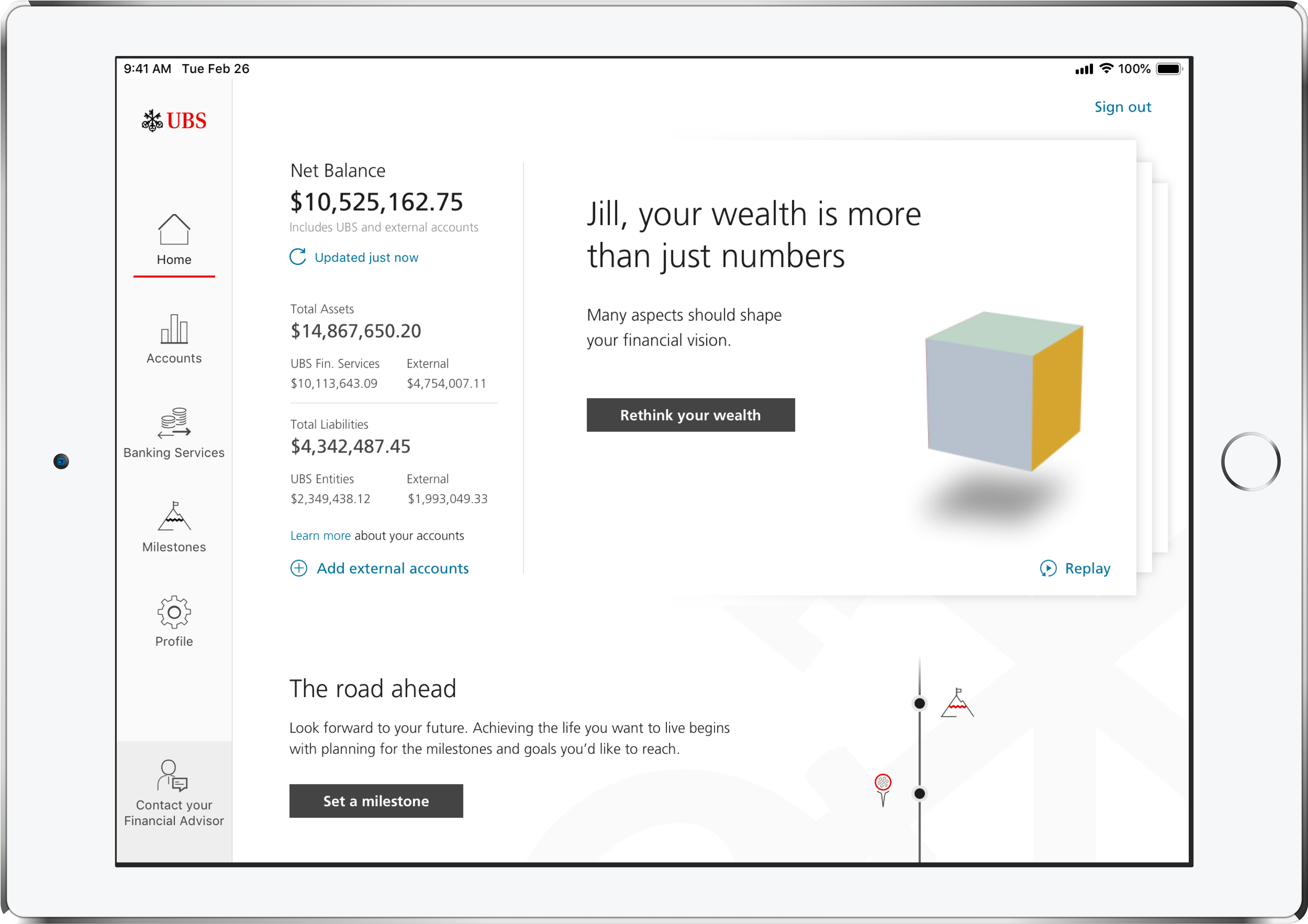 Ubs Launches Wealth Management App For Ipad Mobile Payments Today