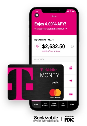 T-Mobile Money launches as mobile carrier returns to banking