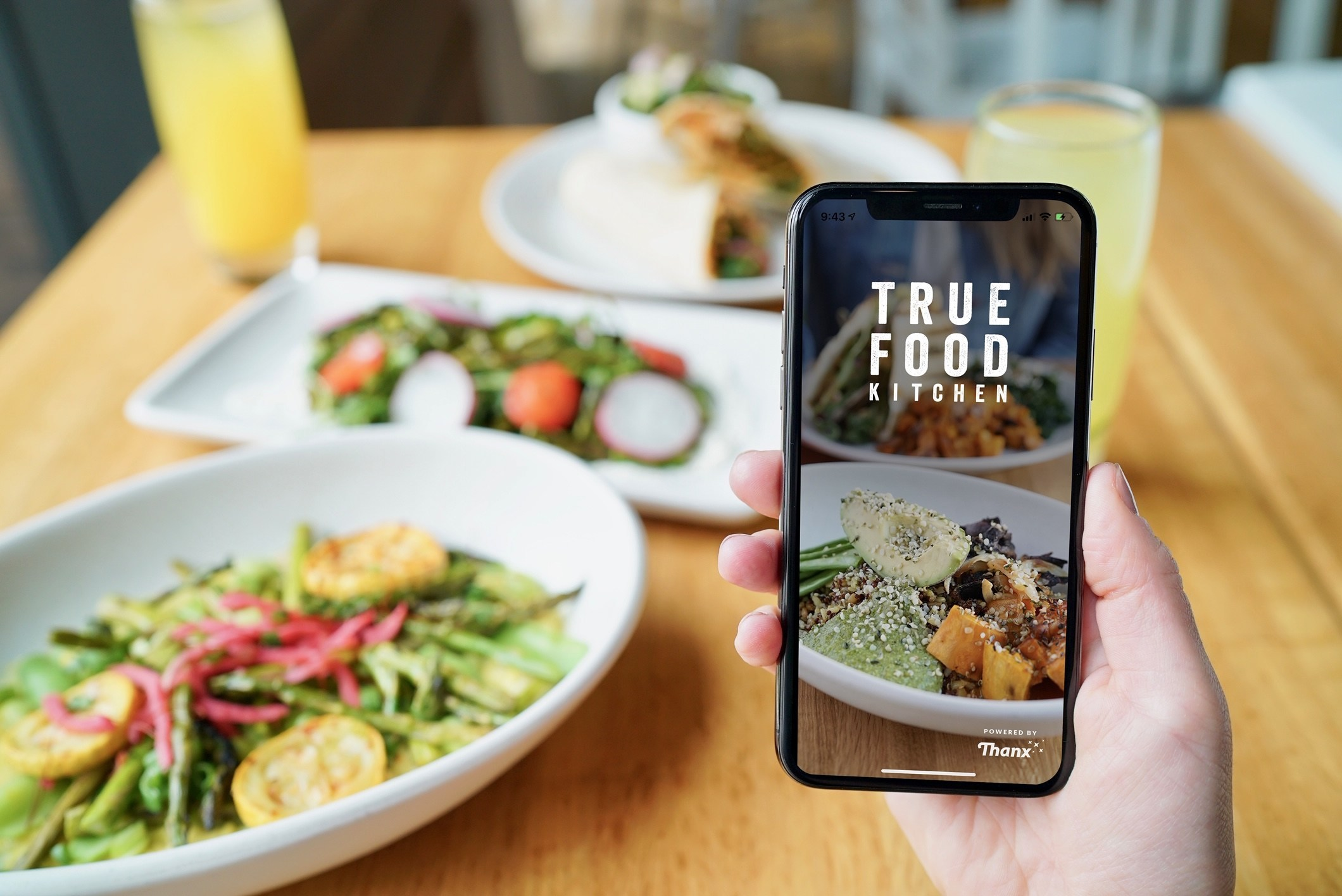 True Food Kitchen Launches Branded Mobile Ordering Loyalty