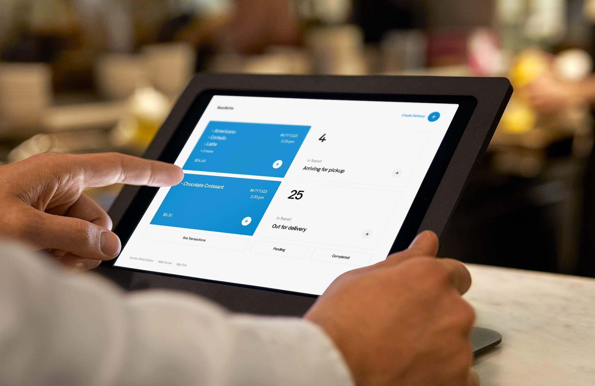Square teams with Postmates to offer on-demand delivery for