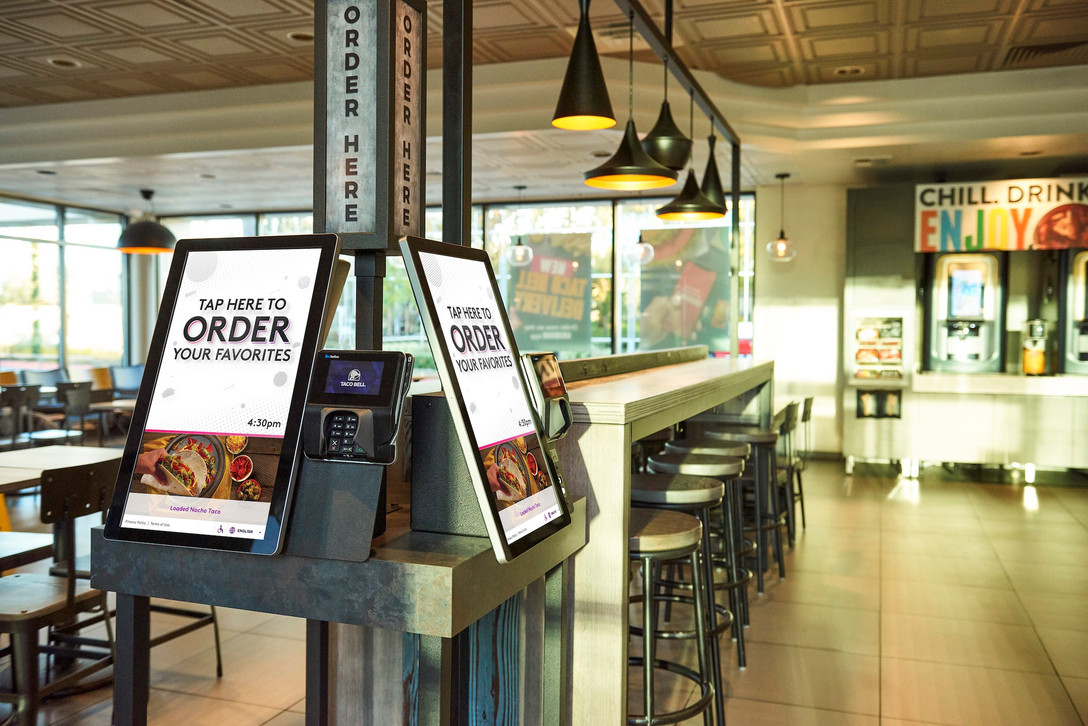 Taco Bell Bell Canada Smart City Kiosks Grab Elevate Awards Interactive Customer Experience Icx Summit Kiosk Marketplace