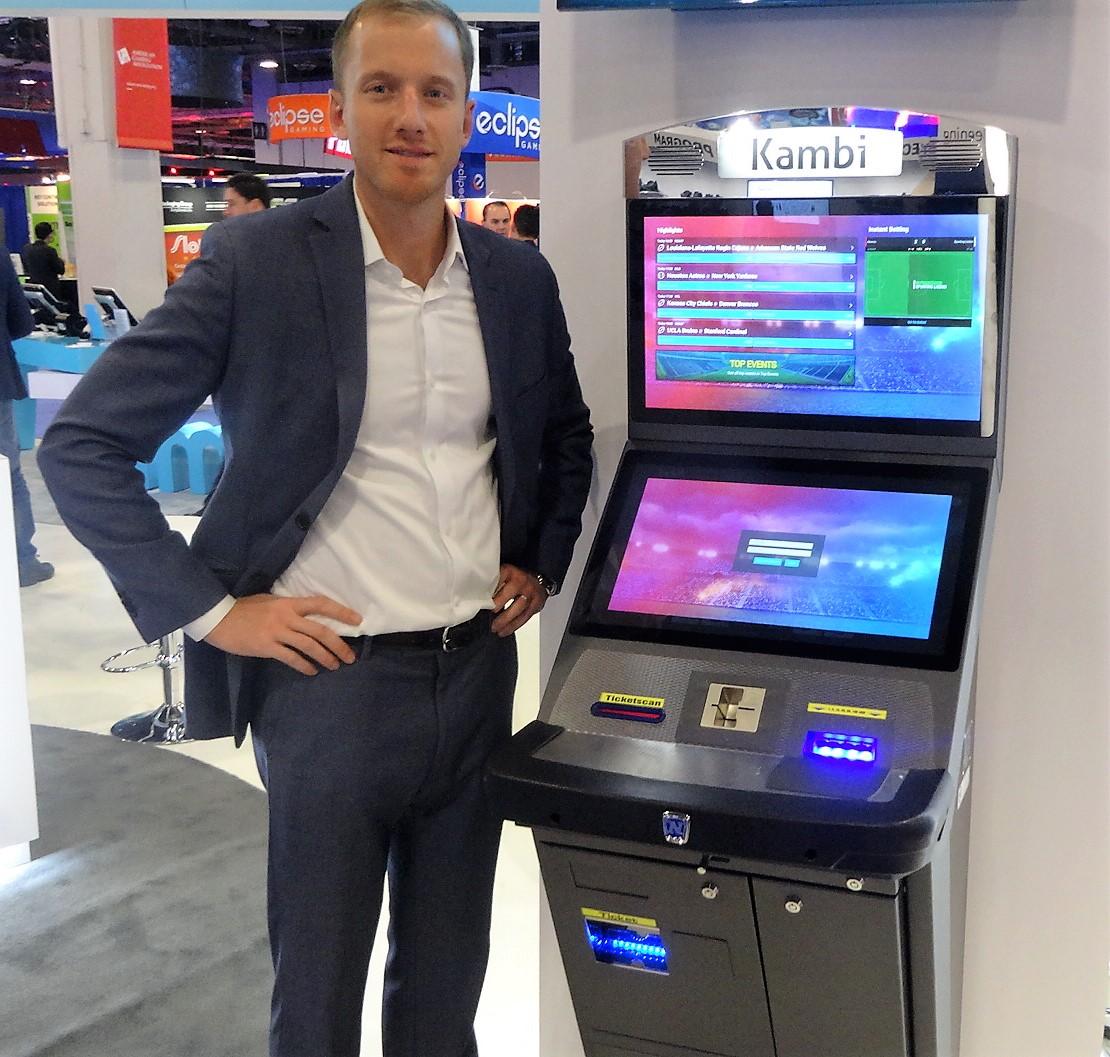 sports betting vending machine