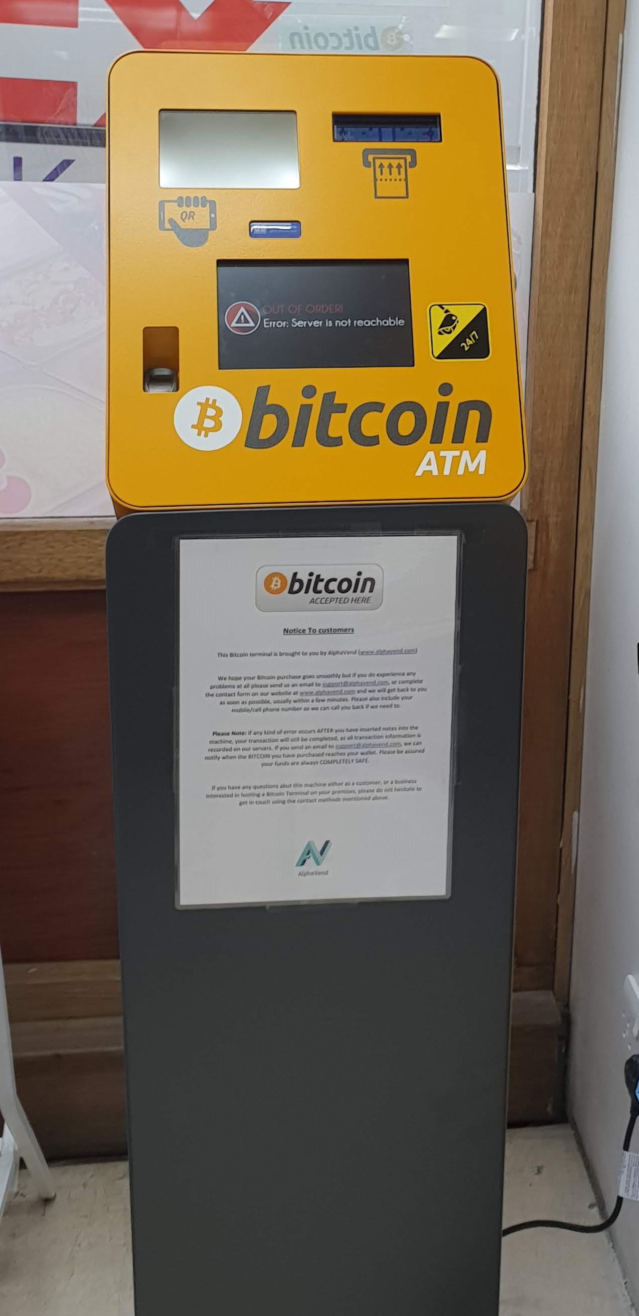 Alphavend installs 2 bitcoin ATMs in Scotland | ATM Marketplace