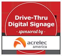 Drive-Thur Digital Signage