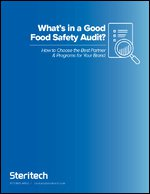 What's in a Good Food Safety Audit?