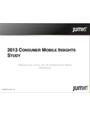 2013 CONSUMER MOBILE INSIGHTS STUDY!